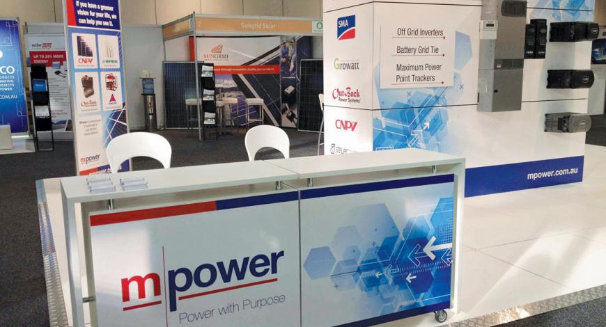 MPower Exhibition Display