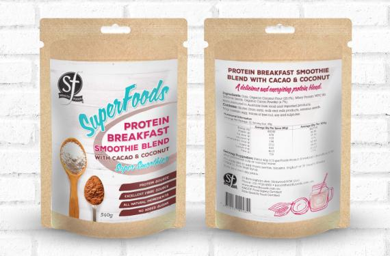 Smoothie Label Range Label Design