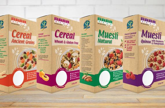 Select Whole Foods Muesli Packaging