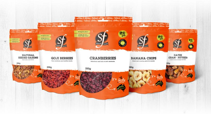 Package Design Brand Range